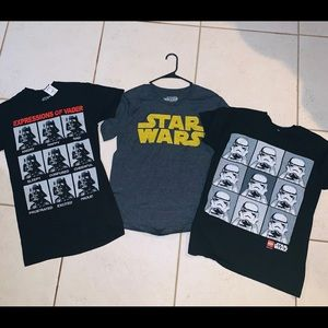 Star Wars lot of Men's Small T-shirt's